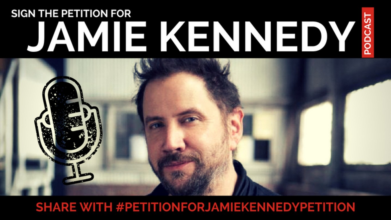 Jamie Kennedy start a podcast!