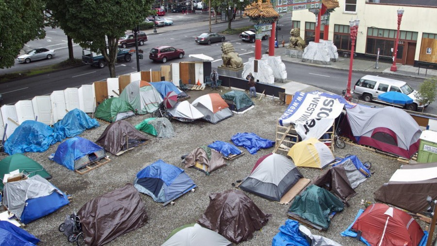 The homeless people from Portland, OR need your help now! Don't let them down!